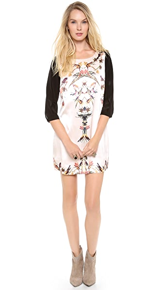 Twelfth St. by Cynthia Vincent 3/4 Sleeve Shift Dress