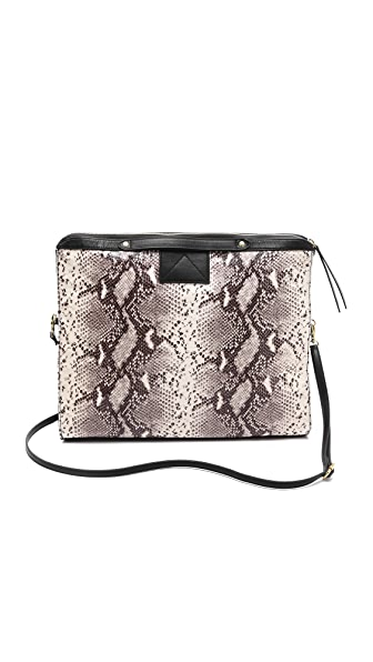 Twelfth St. by Cynthia Vincent Embossed Snake Carryall