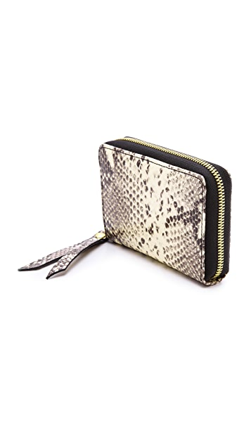 Twelfth St. by Cynthia Vincent Embossed Snake Wallet
