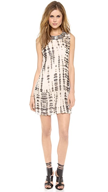Twelfth St. by Cynthia Vincent Drop Waist Embellished Dress