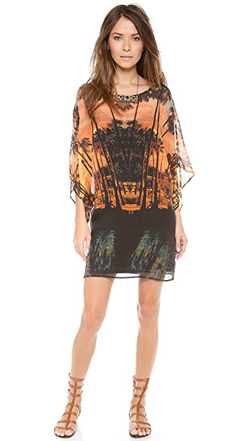 Twelfth St. by Cynthia Vincent Cold Shoulder Caftan