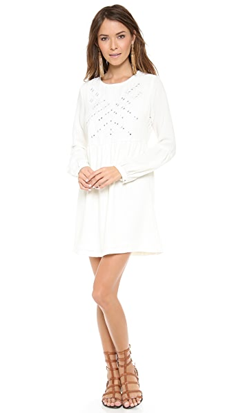 Twelfth St. by Cynthia Vincent Embroidered Mirror Dress