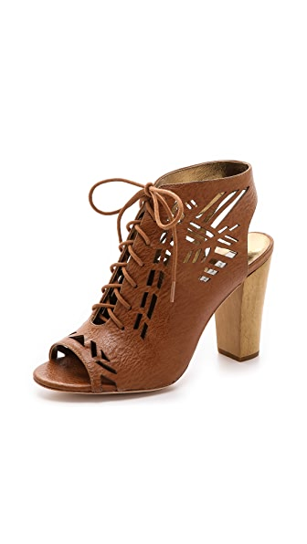Twelfth St. by Cynthia Vincent Sivan Lace Up Booties