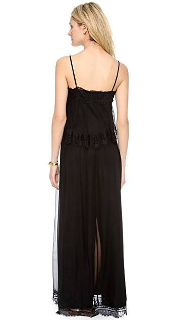 Twelfth St. by Cynthia Vincent Tiered Maxi Dress