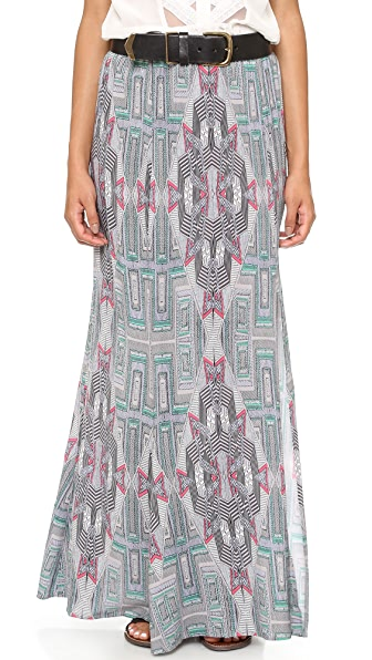 Twelfth St. by Cynthia Vincent Slit Maxi Skirt