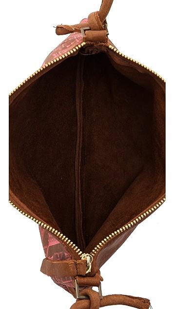 Twelfth St. by Cynthia Vincent Coachella Tobacco Cross Body Bag