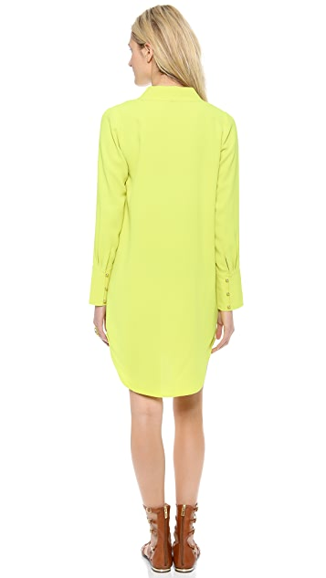 Twelfth St. by Cynthia Vincent Wide Placket Shirtdress