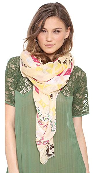 Twelfth St. by Cynthia Vincent Geo Ikat Scarf