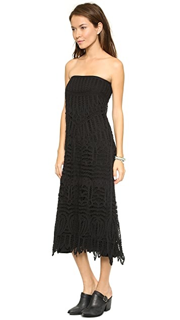 Twelfth St. by Cynthia Vincent Lace Maxi Skirt / Dress