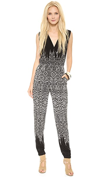 Twelfth St. by Cynthia Vincent Crisscross Jumpsuit