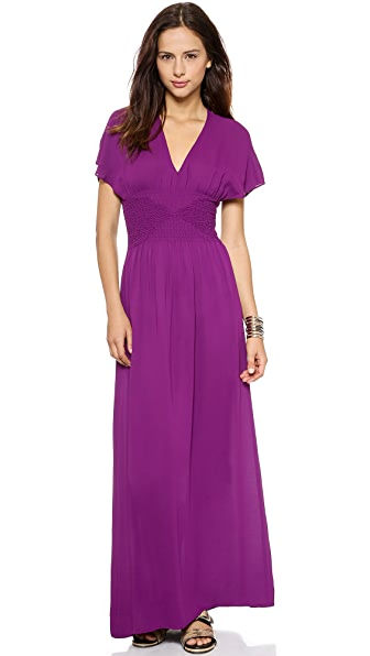 Twelfth St. by Cynthia Vincent Smocked Maxi Dress | SHOPBOP