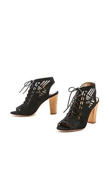 Twelfth St. by Cynthia Vincent Sivan Peep Toe Booties