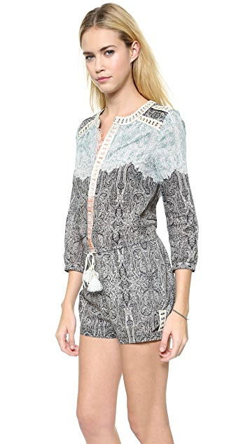 Twelfth St. by Cynthia Vincent Drop Waist Romper