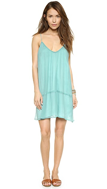Twelfth St. by Cynthia Vincent Cami Tiered Mini Dress
