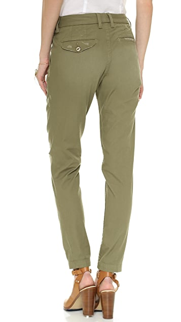 The West is Dead Distressed Chino Pants