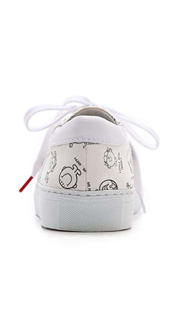 Twins for Peace Vinci Low Top Sneakers