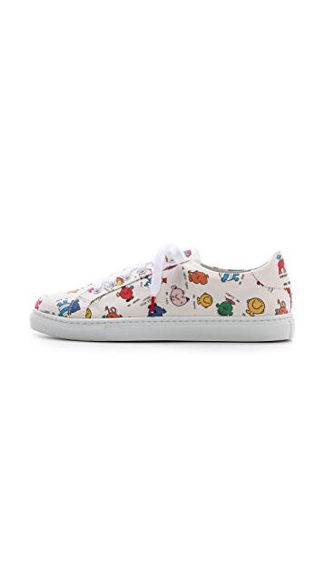 Twins for Peace Alex Low Top Sneakers