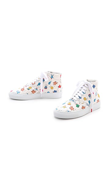 Twins for Peace Vinci High Top Sneakers