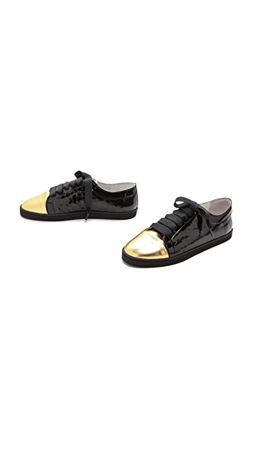 Twins for Peace Bou Bou Croco Sneakers