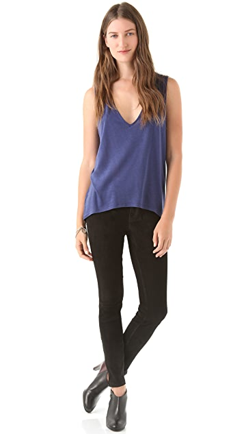 Twenty Deep V Neck Tank