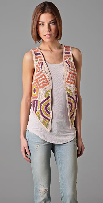 Twenty8Twelve Amelie Crochet Vest