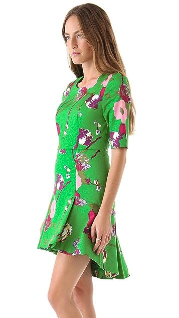 Twenty8Twelve Casey Capote Print Dress