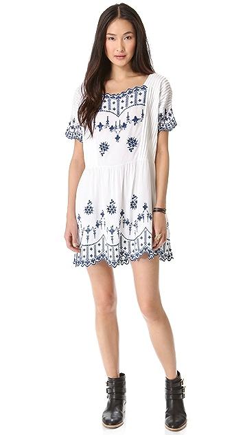Twenty8Twelve Poupee Embroidered Dress
