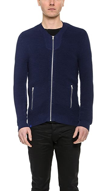 2xH Brothers Ulle Knit Bomber