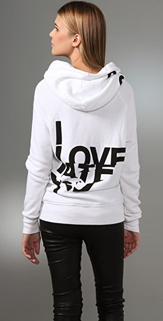 291 Love/Hate Basic Zip Hoodie