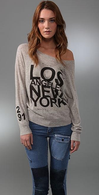 291 LA/NY Cashmere Sweater
