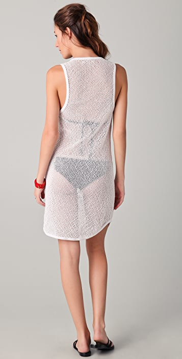 291 Mesh Tank Cover Up Dress