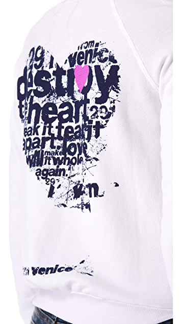 291 Destroy the Heart Pullover