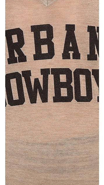 291 Urban Cowboy Asymmetrical Top