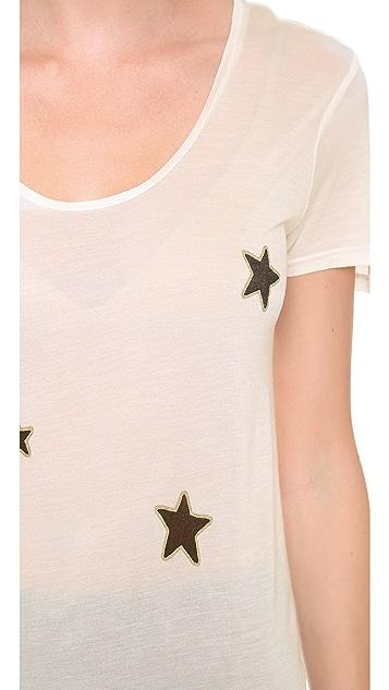 291 Allover Stars Short Sleeve Tee