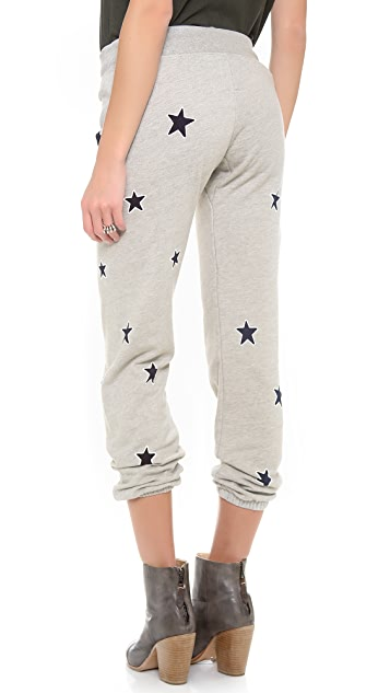 291 Allover Stars Baggy Pants