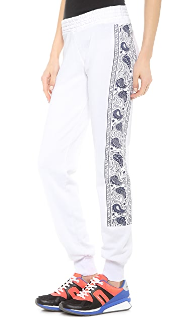 291 Paisley Slim Track Sweatpants
