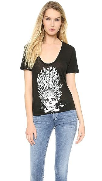 291 Chief Skull Tee