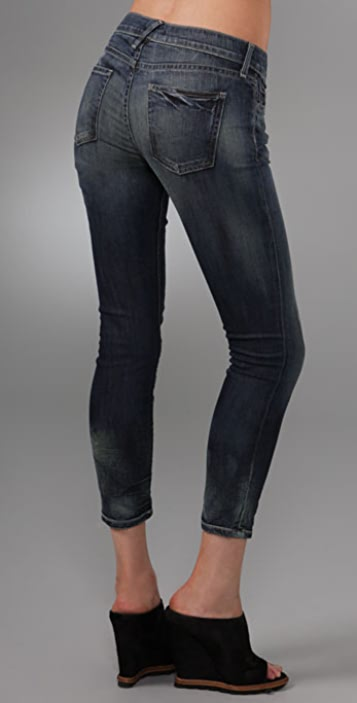 TEXTILE Elizabeth and James Deb Cropped Skinny Jeans