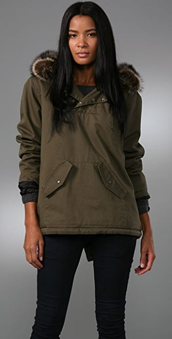 TEXTILE Elizabeth and James Gregory Pullover Jacket