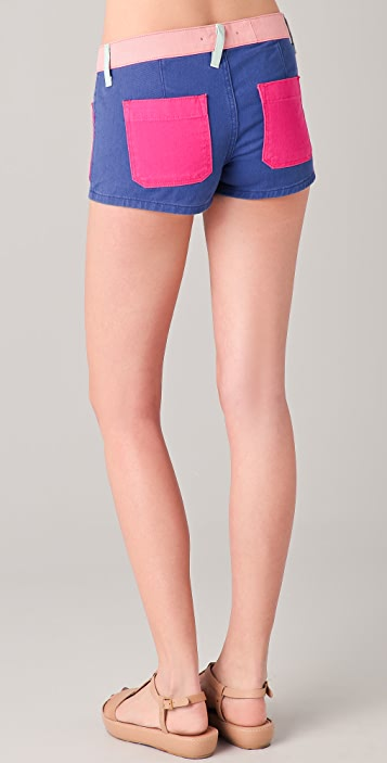 TEXTILE Elizabeth and James Robbie Shorts