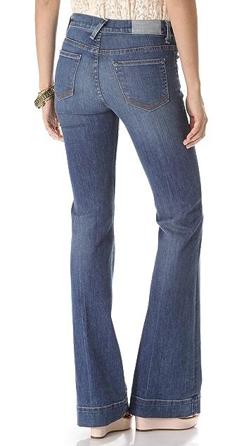 TEXTILE Elizabeth and James Linda Wide Leg Jeans