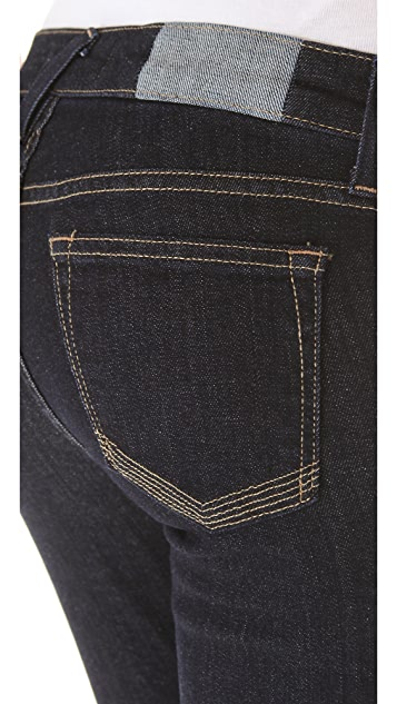 TEXTILE Elizabeth and James Tucker Cropped Skinny Jeans