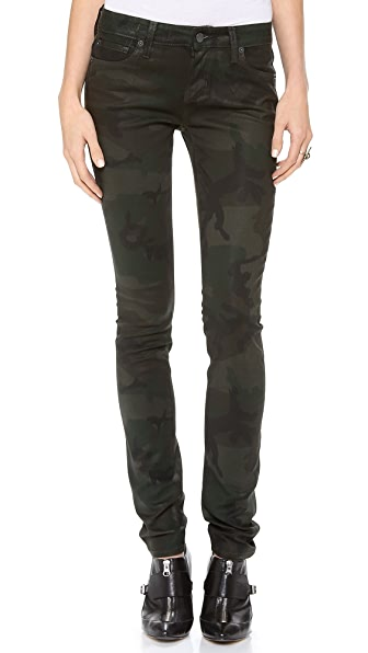 TEXTILE Elizabeth and James Coated Debbie Skinny Jeans