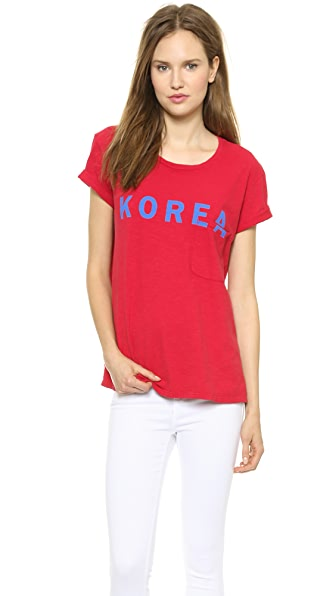 TEXTILE Elizabeth and James Korea Bowery Tee