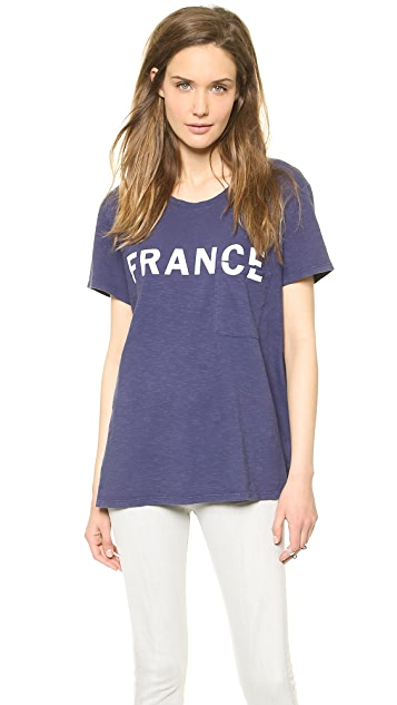 TEXTILE Elizabeth and James France Bowery Tee