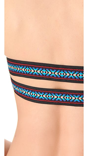 Tyler Rose Swimwear Free Fallin Reversible Bikini Top