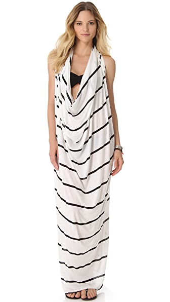 Tyler Rose Swimwear Intuition Striped Halter Cover Up