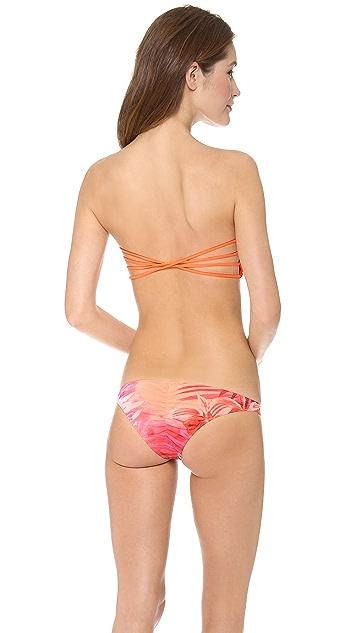 Tyler Rose Swimwear Tanner Bandeau Bikini Top
