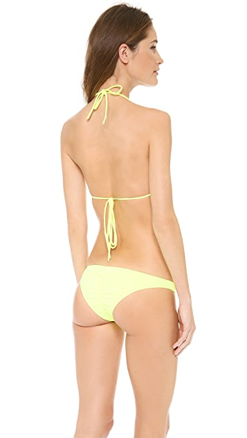 Tyler Rose Swimwear Bradford Triangle Bikini Top