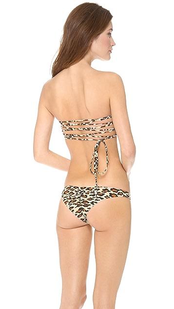 Tyler Rose Swimwear Parker Bandeau Bikini Top